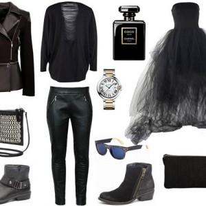 Fokus na czern - stylizacja jesien 2014 (5)