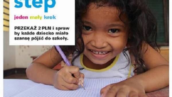 """Akcja charytatywna Marks & Spencer i UNICEF – """"Jeden mały krok"""""""