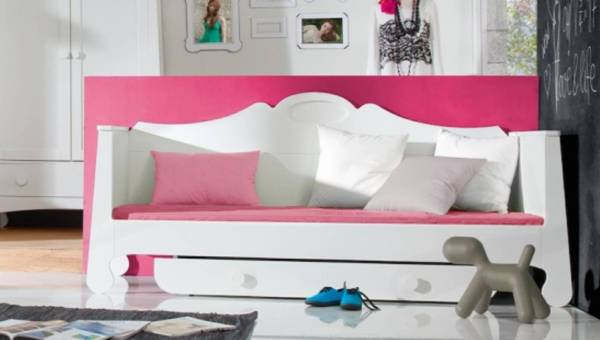 Pokój nastoletniej elegantki