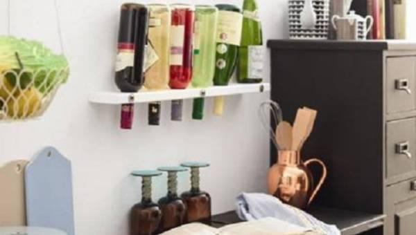 Zrób to sam (DIY): designerska półka na wino