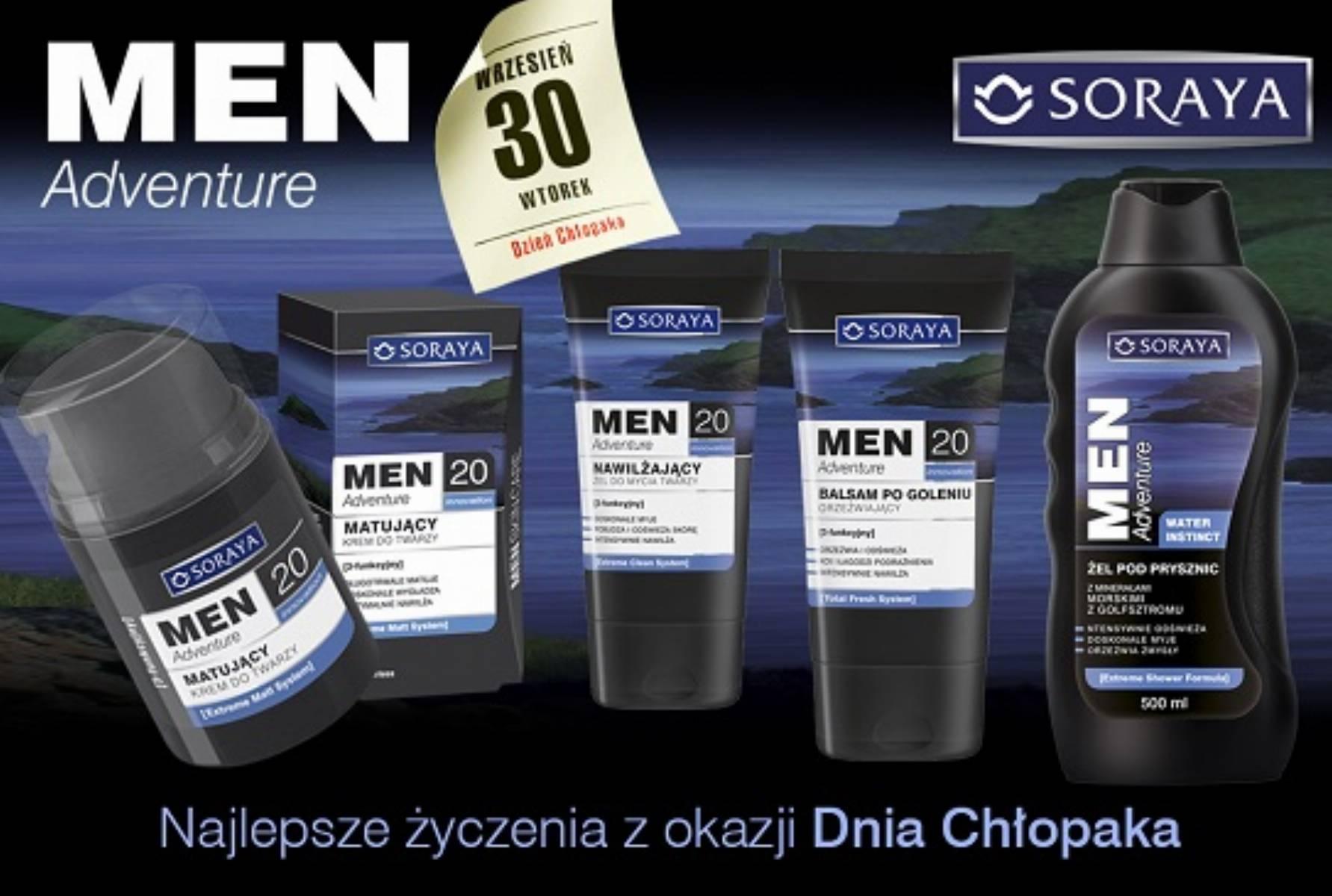 Soraya Men Adventure 20+