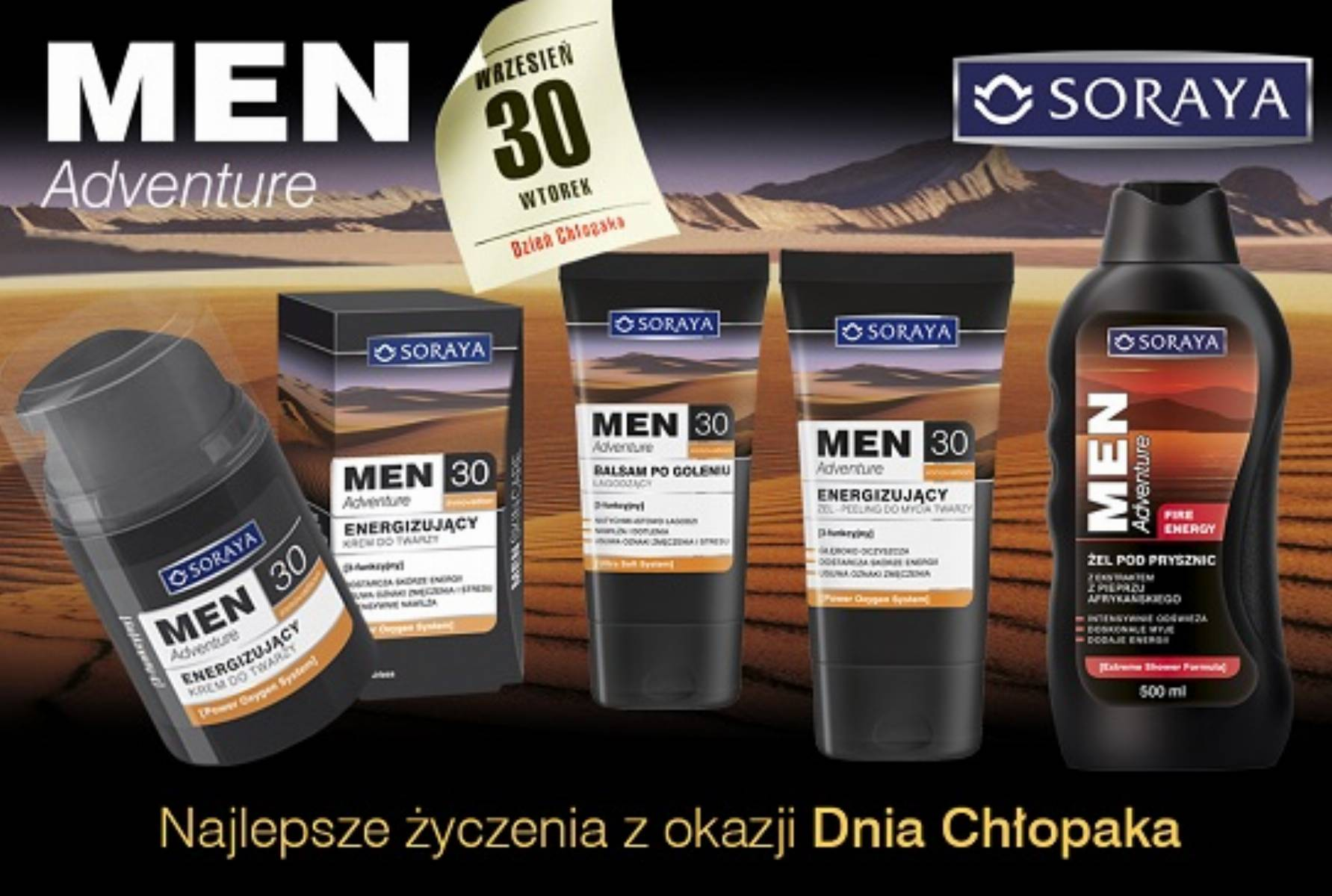 Soraya Men Adventure 30+