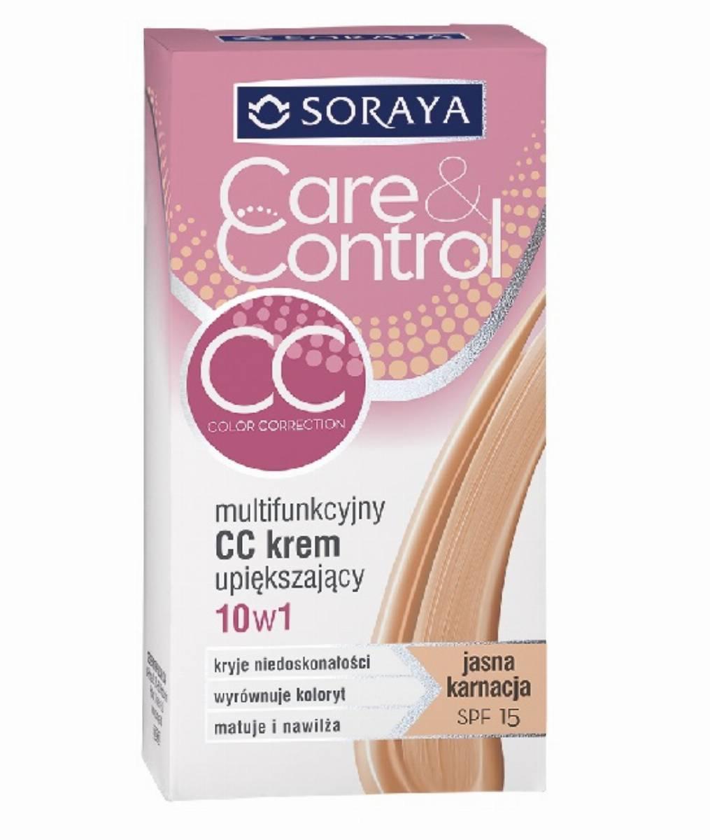 Soraya Multifunkcyjny CC krem upiększajacy - cera jasna