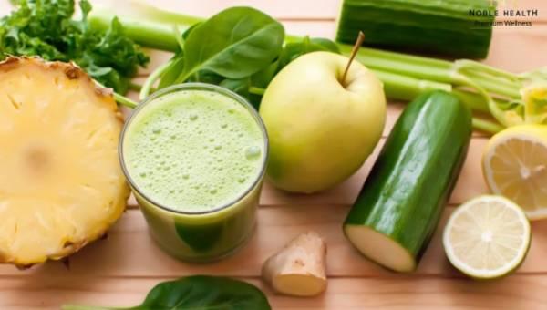 Powakacyjny detoks z zielonymi koktajlami