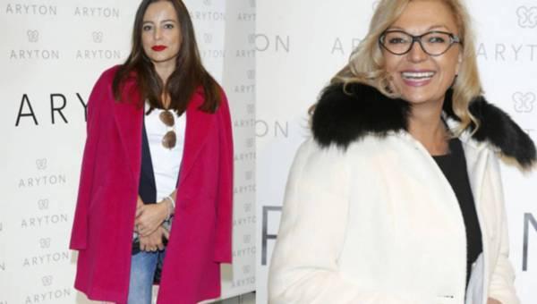 Gwiazdy, stylistki i blogerki w kolorowych płaszczach Aryton