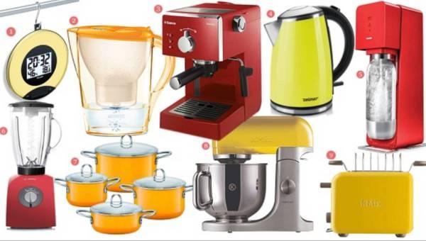 Małe, kolorowe AGD i Twoja kuchnia staje się wesoła!