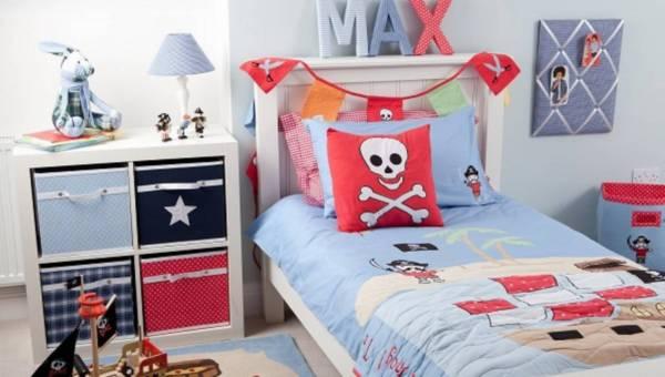 Urządzamy pokój dziecka w stylu pirackiej wyspy