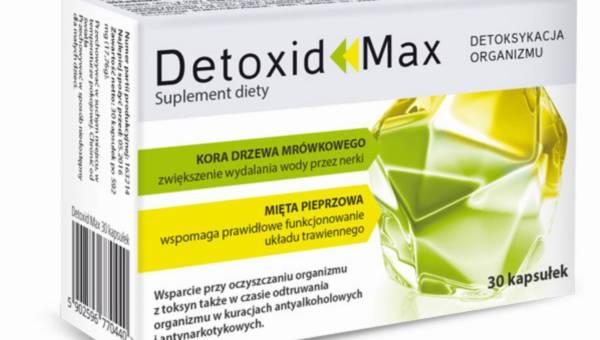 Suplement diety: Detoxid Max – detoksykacja organizmu