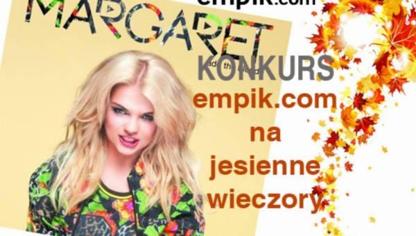 Konkurs: empik.com na jesienne wieczory – wygraj płytę Margaret