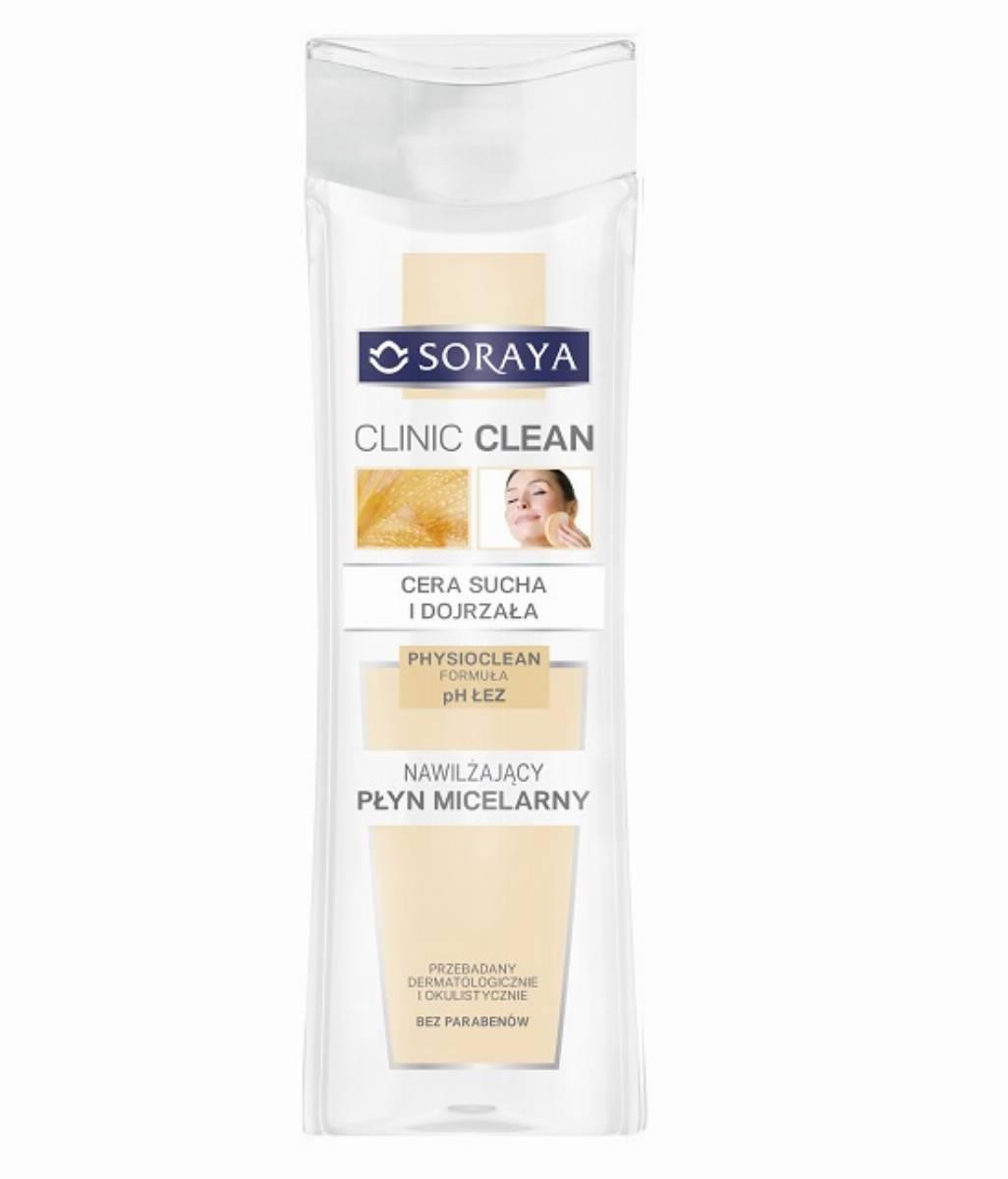 Soraya CLINIC CLEAN -nawilzajacy plyn miceralny
