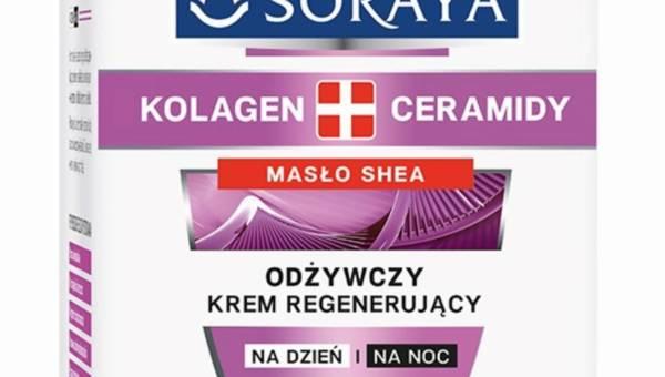 Nowość Soraya Kolagen+Ceramidy – Odżywczy krem regenerujący