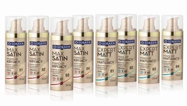 Nowość Soraya: Make-up EXPERT MATT z 4% składnikiem BLURRING EFFECT