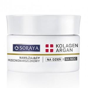 Soraya krem nawilzajacy Kolagen+Argan (1)