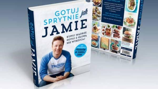 """Już wkrótce w księgarniach: kolejny album kulinarny Jamiego Olivera """"Gotuj sprytnie jak Jamie"""""""