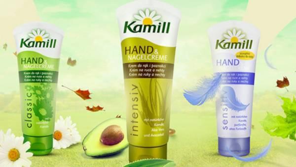 Kremy do rąk Kamill – klasyka gatunku