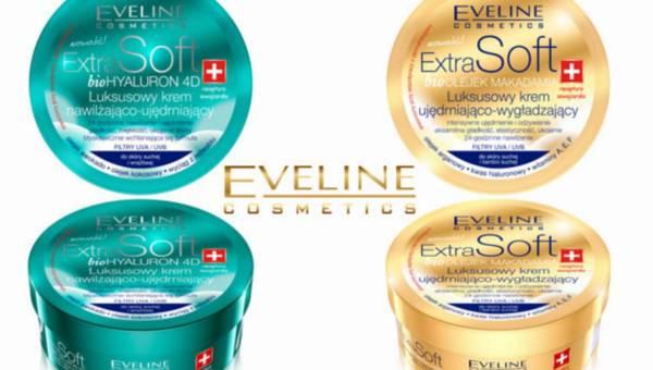 Nowość Eveline Cosmetics: luksusowe kremy z linii ExtraSoft: z bioHyaluronem 4D lub bioolejkiem makadamia