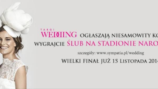 Dla przyszłych Młodych Par: Ślub na Stadionie Narodowym – do wygrania pakiet ślubny o wartości 50 000 zł