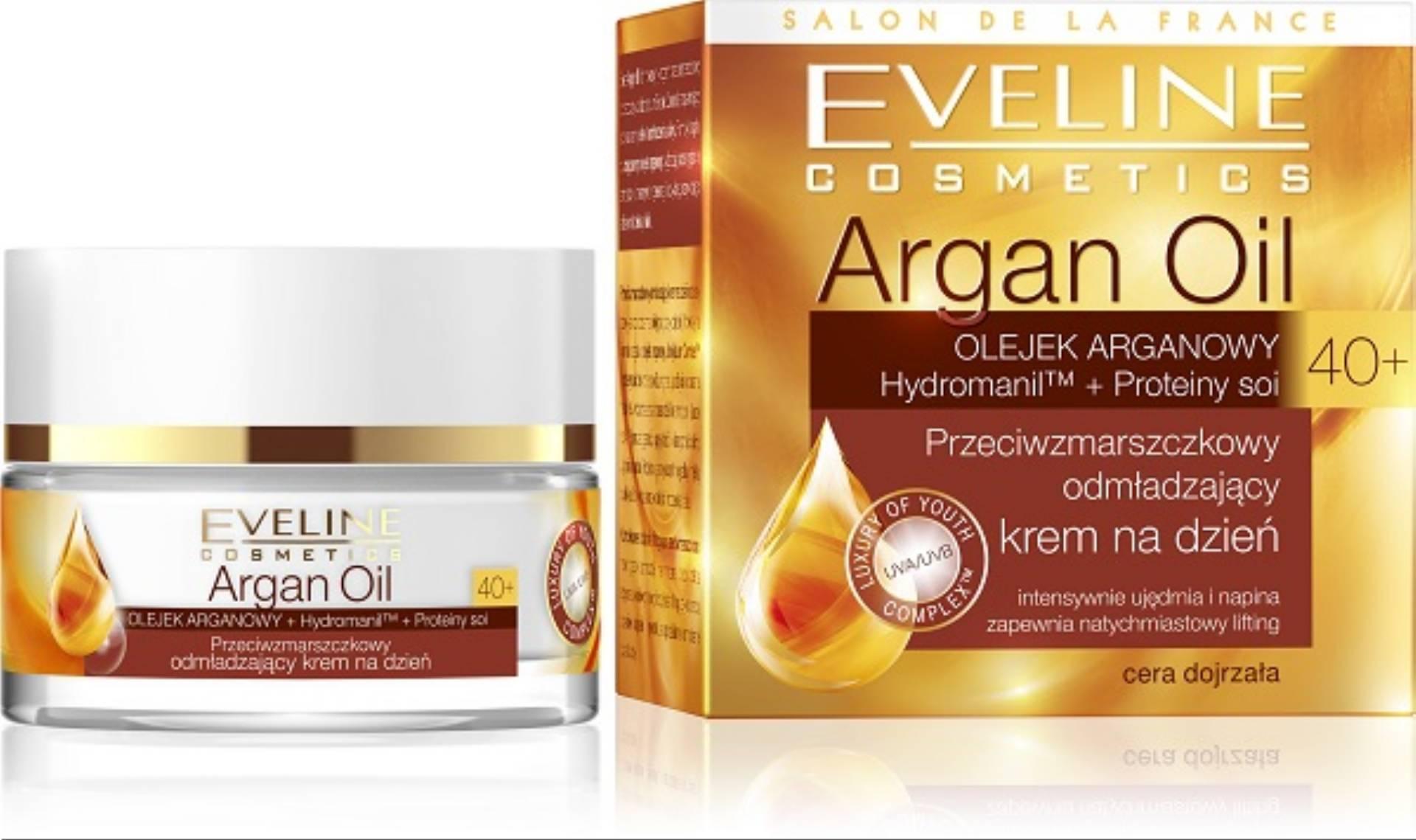 Eveline Cosmetics Argan Oil 40+ - krem na dzien