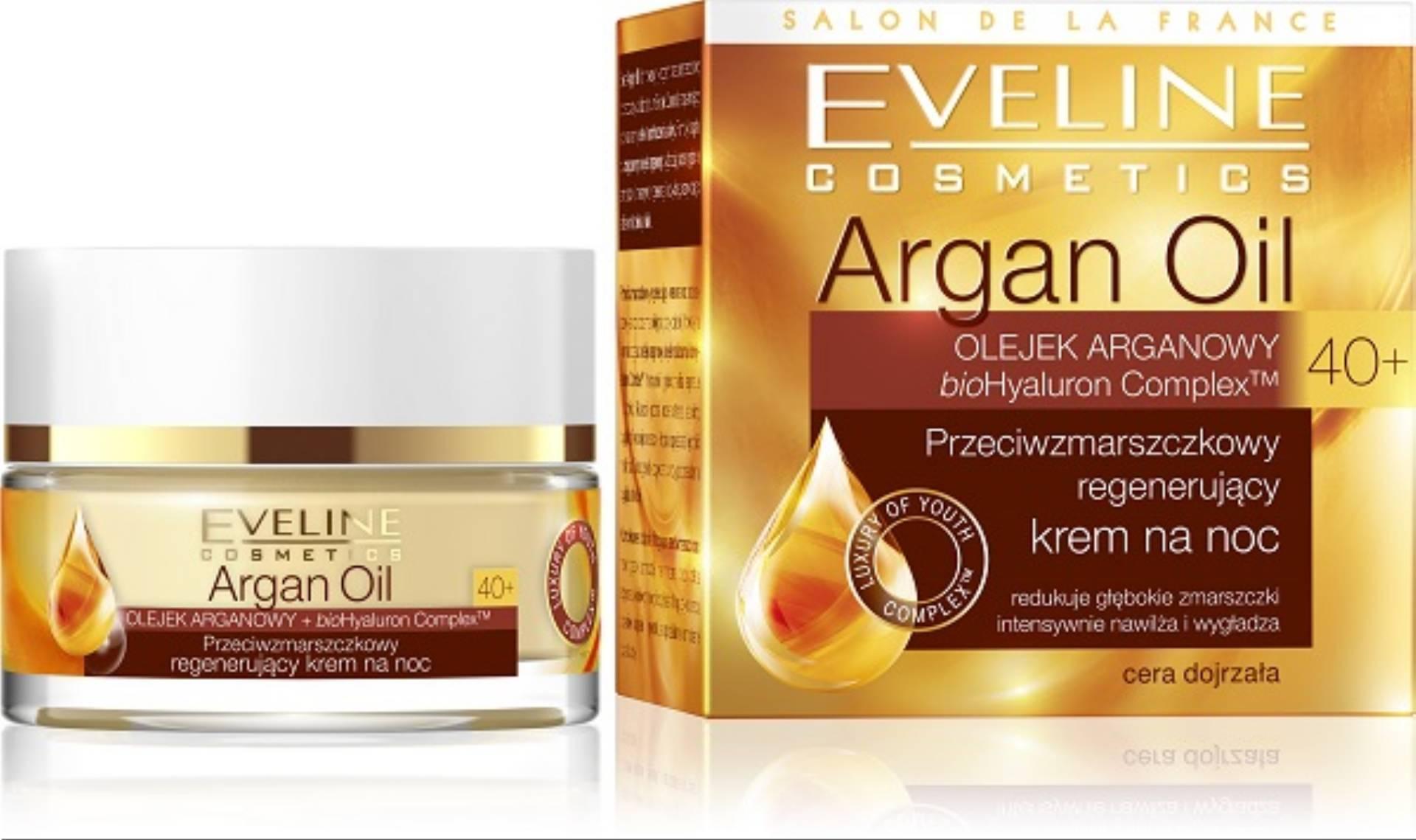Eveline Cosmetics Argan Oil 40+ - krem na noc