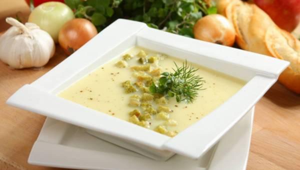 Przepis na: Kremowa zupa selerowa