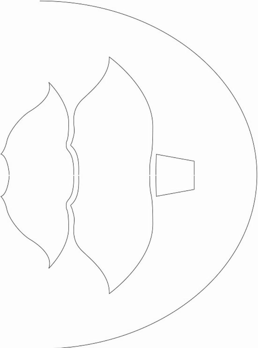 Swiateczna lampka - szablon (1)