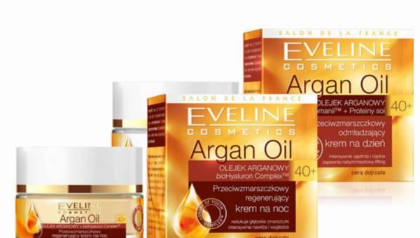 Nowość Eveline Cosmetics: program antyzmarszczkowy – seria Argan Oil 40+