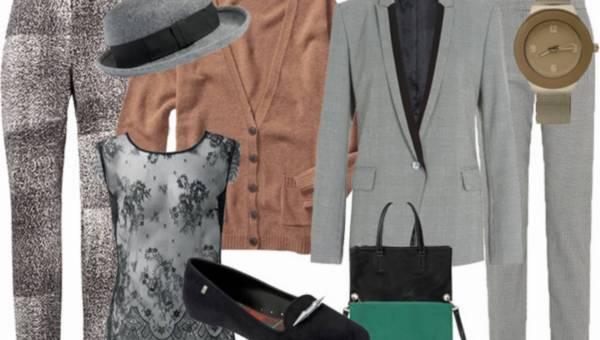 Męski styl w damskim wydaniu na jesień 2014 – 5 HOT propozycji