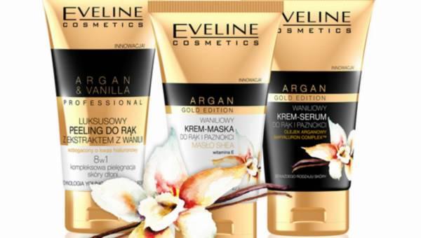 Nowość Eveline Cosmetics: Pielęgncja dłoni z luksusową Waniliową Linią ARGAN GOLD EDITION