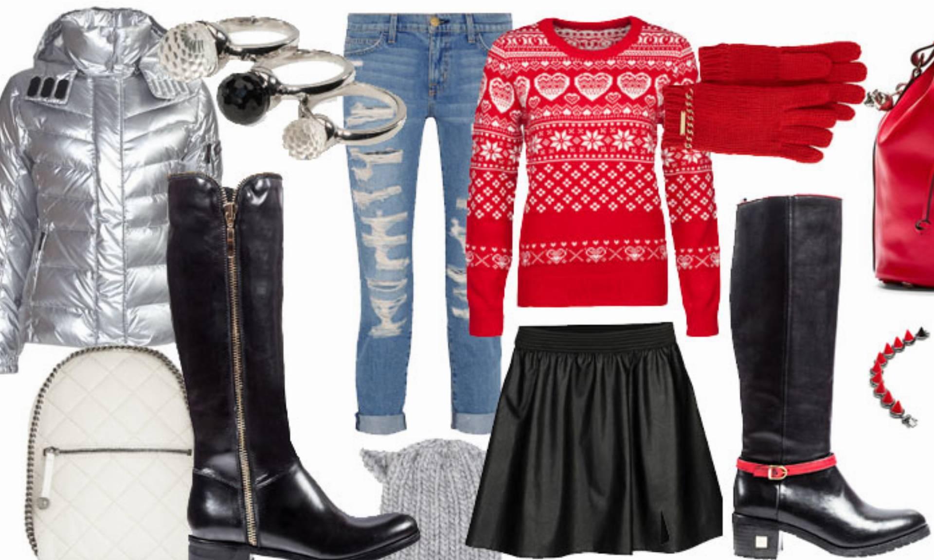 brązowe długie kozaki New Look jesień zima 20122013