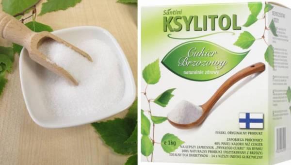 Ksylitol cukier brzozowy – zdrowa alternatywa dla białego cukru