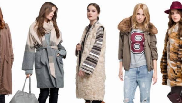 Modne płaszcze i kurtki zima 2014 / 2015