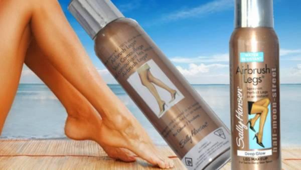 Nogi zimą muśnięte słońcem – czyli rajstopy w spreju