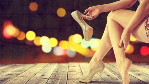 Zadbane stopy w sylwestrową noc
