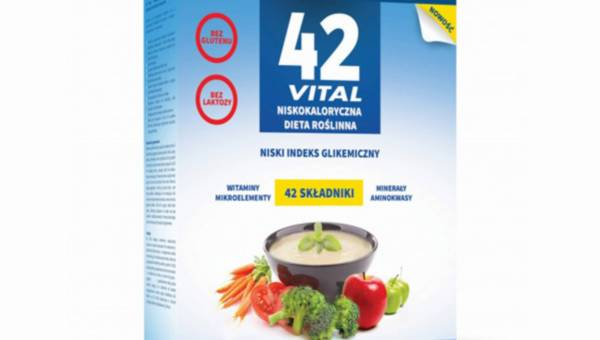 Nowość – 42 Vital Niskokaloryczna Dieta Roślinna