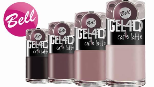 Seria inspirowana kawą –  GEL 4D Caffe Latte marki Bell
