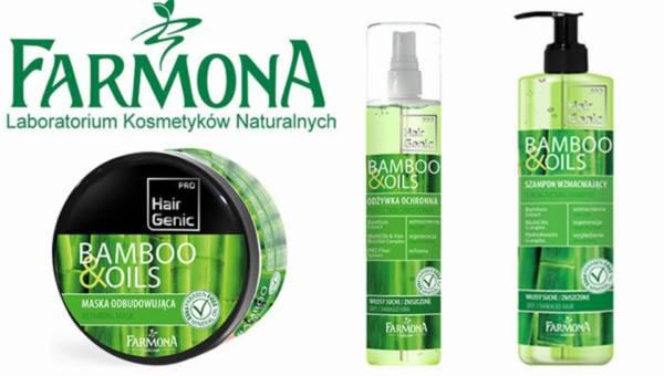 Nowość od Farmony – Hair Genic Bamboo & Oils