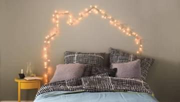 DIY – Oświetlenie nad łóżkiem