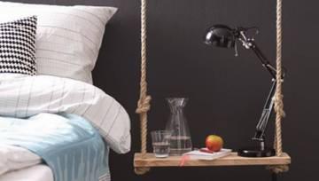 DIY – półka nocna jak huśtawka