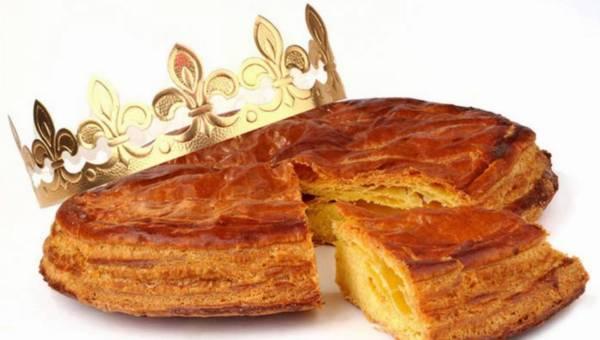 Przepis na: Francuskie ciasto na święto Trzech Króli
