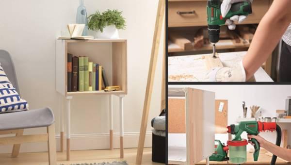 Zrób to sama (DIY): regalik ze skrzyni