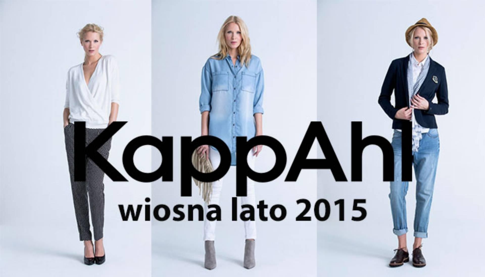 kappahl wiosna lato 2015