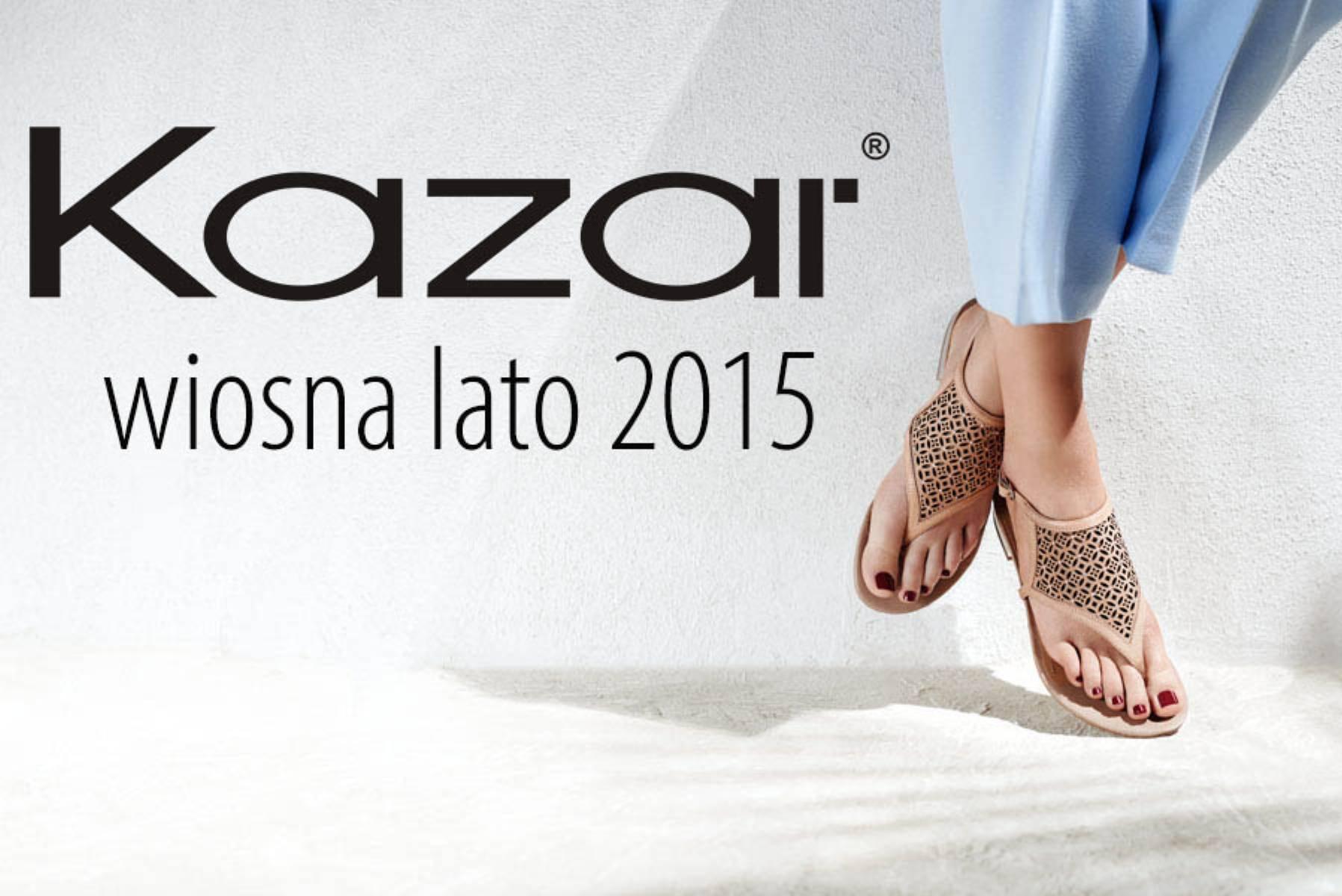 sandały damskie 2015 kazar