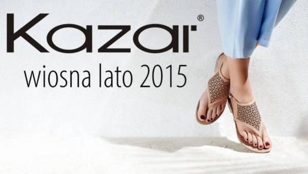 Kolekcja Kazar buty wiosna lato 2015