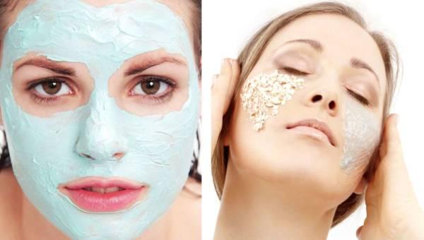 Domowe maseczki na twarz – Maska i Peeling owsiano-migdałowy
