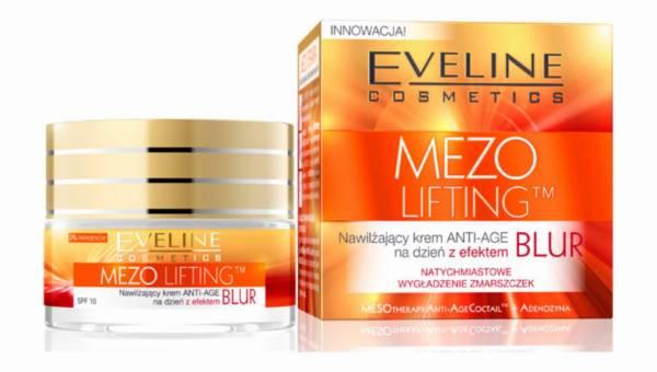 MEZOLifting  od Eveline Cosmetics: Nawilżający krem ANTI-AGE na dzień z efektem BLUR