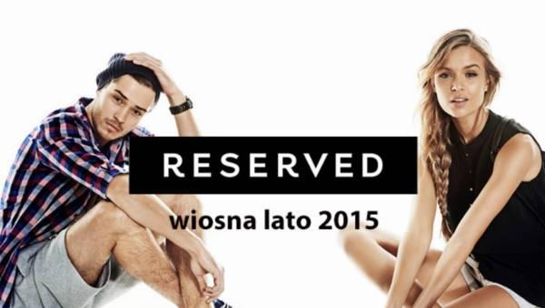 Kolekcja Reserved wiosna lato 2015