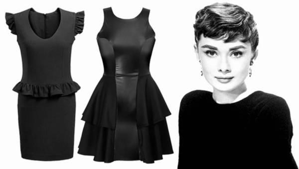 Sukienka MAŁA CZARNA – dobieramy krój do figury