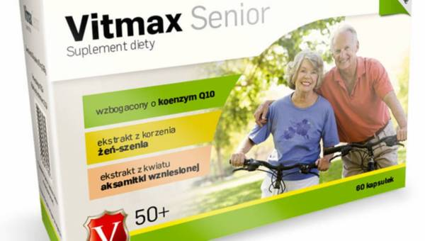 Suplement diety dla babci i dziadka: Vitmax Senior