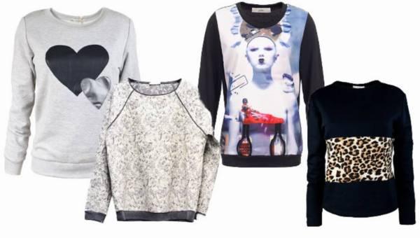 Weekendowe stylizacje z bluzą