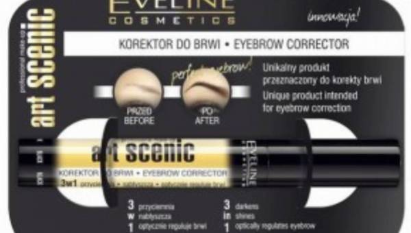 Eveline – Art Scenic Korektor do brwi 3 w 1